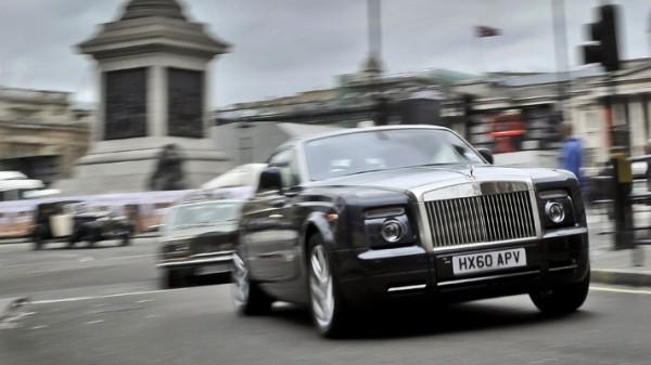 Женева 2011: Rolls-Royce готовится представить люксовый электрокар Phantom 102EX