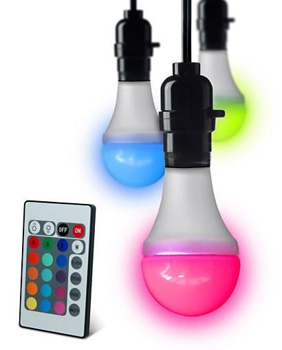 Цветная лампа с дистанционным управлением