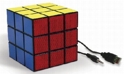 Колонка в виде кубика Рубика