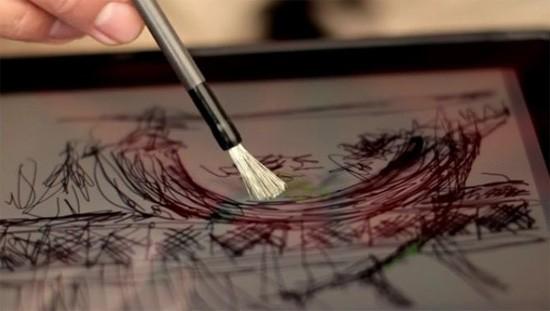 Аналоговая кисточка для цифрового iPad'а