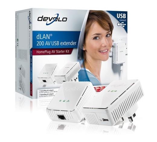Devolo dLan 200 AV: первый в мире USB-удлинитель для электропроводки