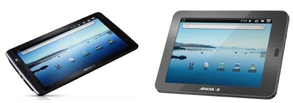 Недорогие планшеты Archos Arnova 8 и 10