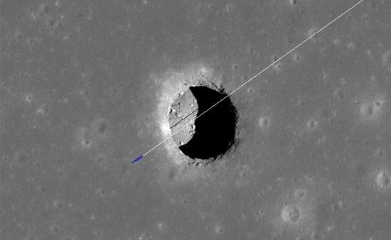 На Луне обнаружена гигантская впадина – идеальное убежище для колонизаторов