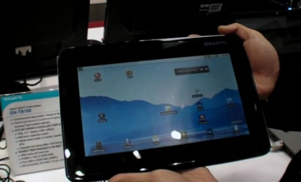 Android-планшет GN-TB100 от Gigabyte