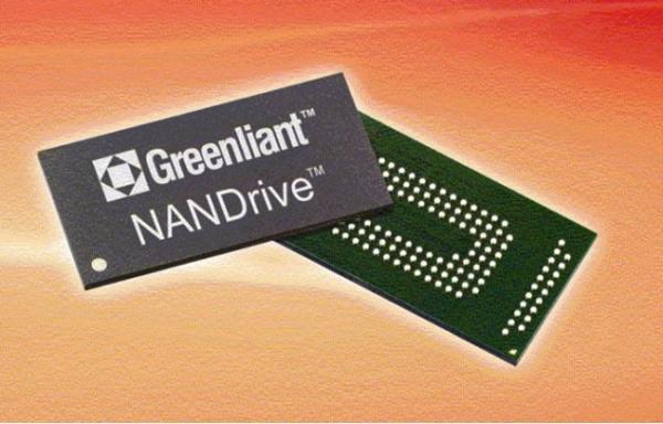 Первый SATA SSD в одном чипе: Greenliant NANDrive