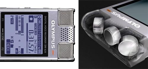Olympus DM-620 – диктофон с тремя микрофонами