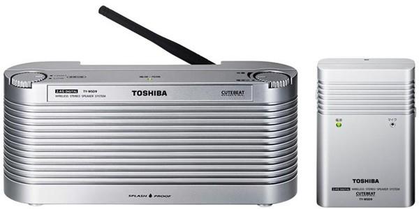 Водонепроницаемые колонки TY-WSD9 от Toshiba