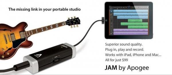 Гитарный гаджет для iOS-устройств
