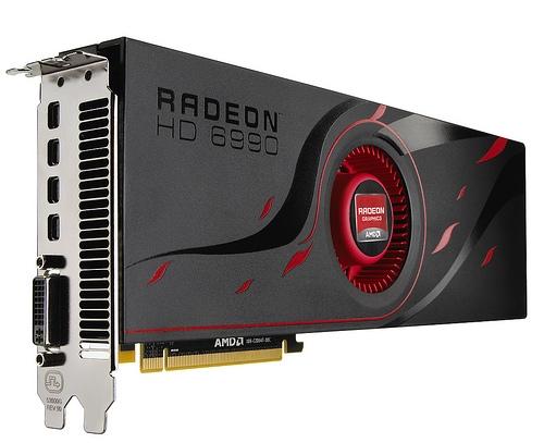 AMD запускает «самую быструю в мире видеокарту» – Radeon HD 6990