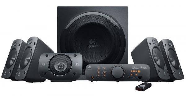 Z906 – 500-ваттная 5.1-канальная аудиосистема от Logitech