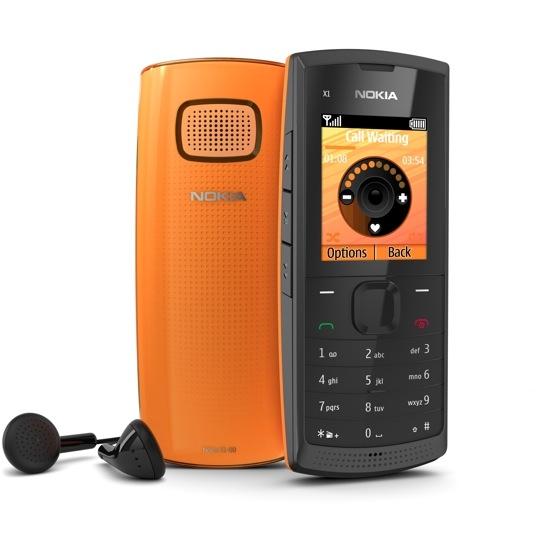 X1-00 – недорогой «музыкальный» телефон от Nokia
