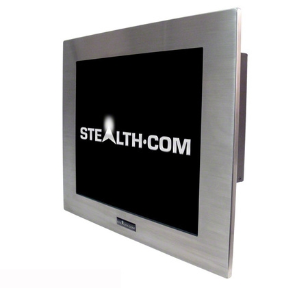 Защищенный встраиваемый компьютер Stealth Panel PC
