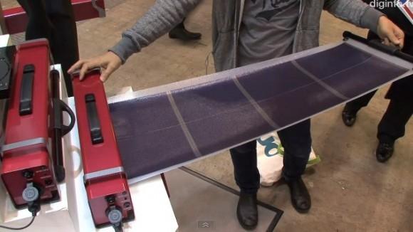 Портативный генератор OS GSR-110B с гибкими солнечными панелями