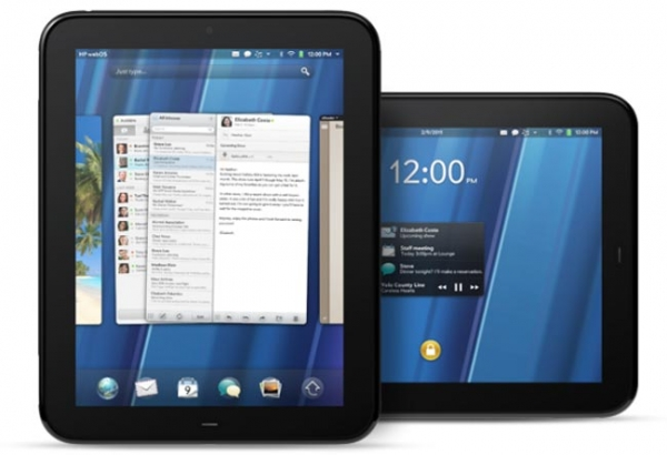 Официальный анонс планшета HP TouchPad