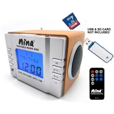 Цифровой бумбокс NINA Portable MP3 Music Box