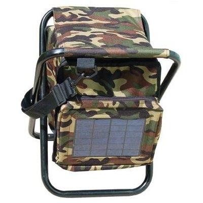 Стул с солнечной батареей для рыбаков