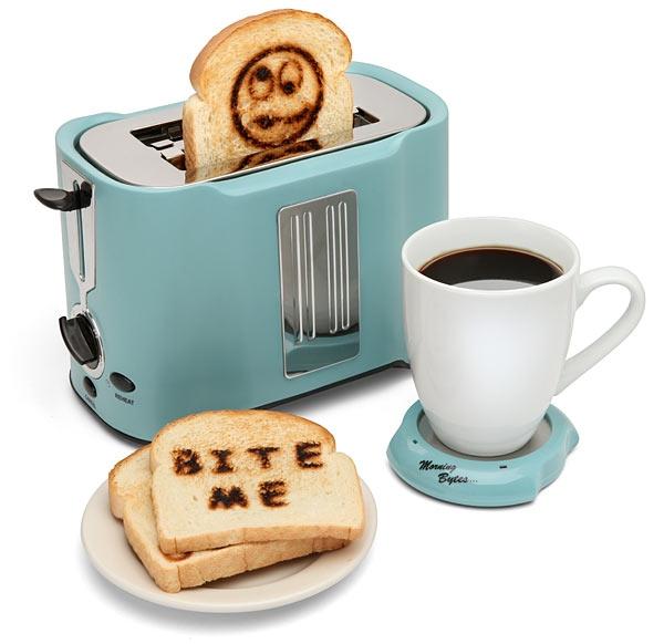 «Тостер-принтер», выжигающий изображения на тостах