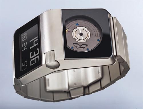 Механико-электронные часы Ventura SPARC MGS с микро-генератором