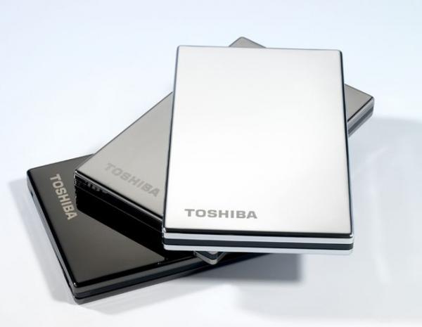 Toshiba запускает новые внешние винчестеры