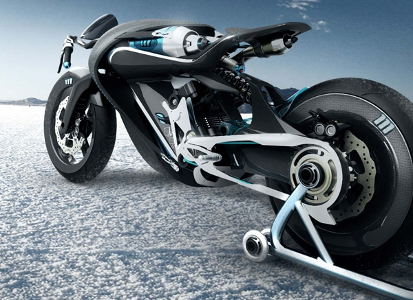 Saline Bird: мотоцикл, работающий на сжатом воздухе