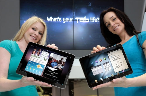 Samsung представила 10,1'' и 8,9'' модели Galaxy Tab 2