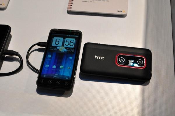Официальный анонс HTC EVO 3D