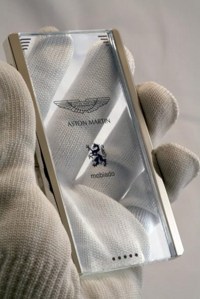 Mobiado и Aston Martin работают над стеклянным телефоном