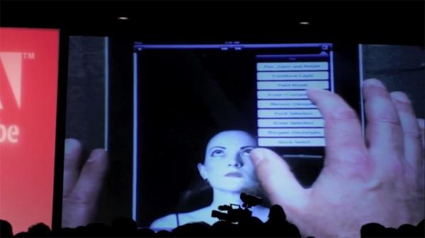 Adobe продемонстрировала Photoshop для iPad