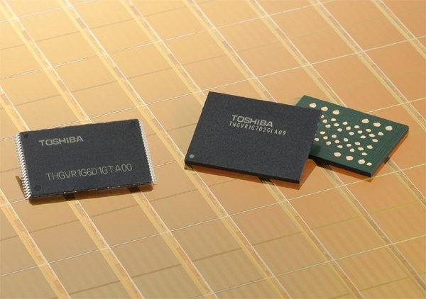 Toshiba выпускает новые 24-нм чипы SmartNAND