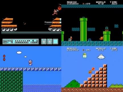Сеанс одновременной игры в «Марио»