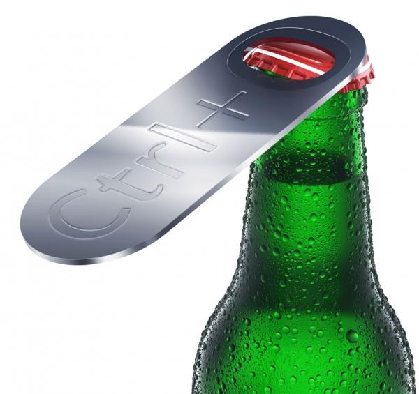 Открывалка для бутылок «Ctrl+O»