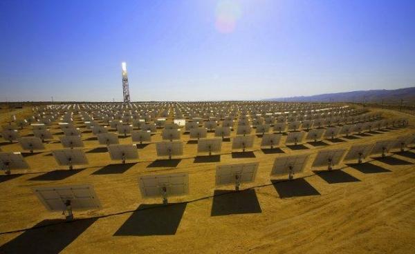 Google вложила 168 млн. в солнечную электростанцию