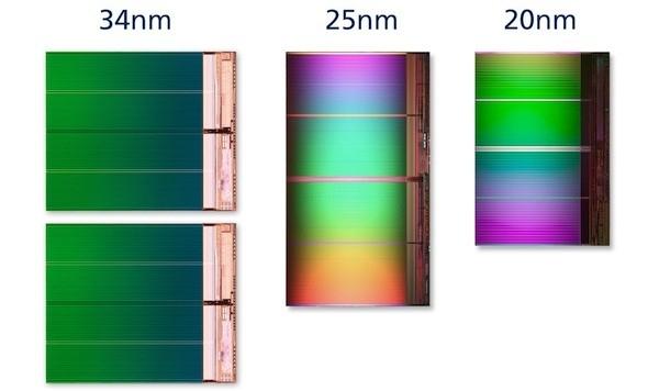 Intel и Micron анонсируют 20-нм технологию флеш-памяти NAND