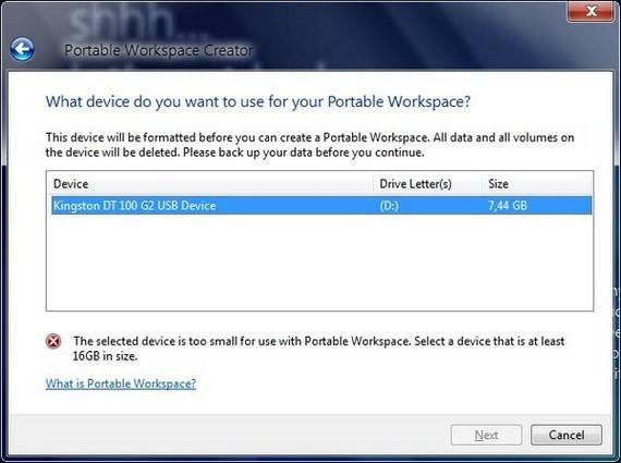 Windows 8 Portable Workspaces – загрузись с флешки!