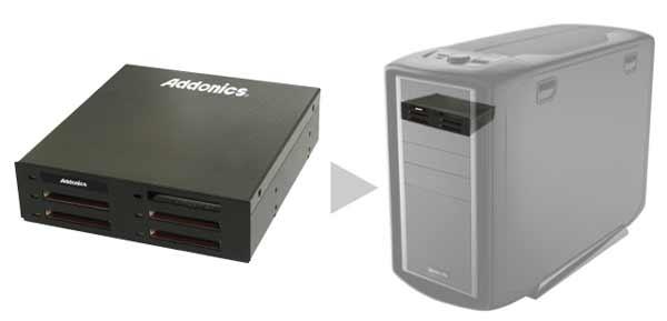 Addonics представляет CF SSD для 5.25'' отсека