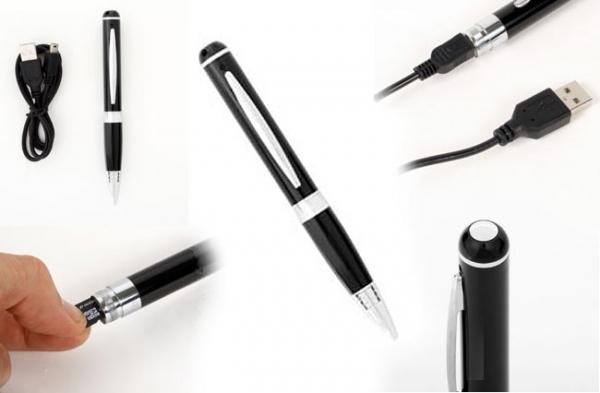 Шпионская ручка от Thanko