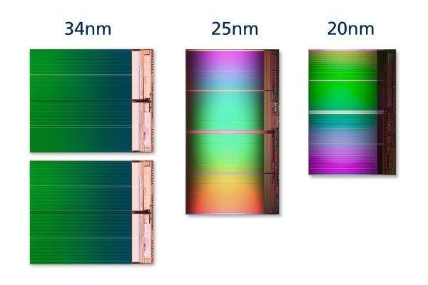 20-нанометровая NAND-память