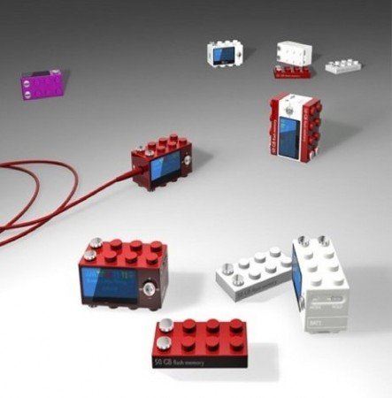 Плеер в стиле LEGO