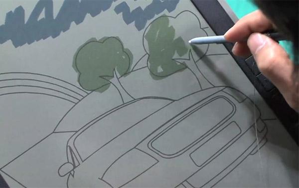 Многообещающие e-Paper дисплеи Bridgestone AeroBee