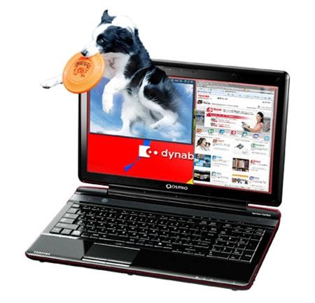 3D-ноутбук Toshiba Dynabook Qosmio T851/D8CR
