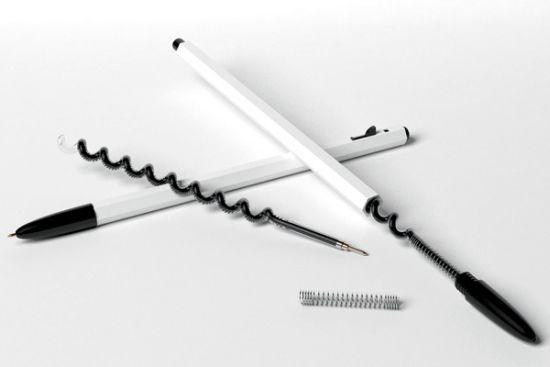 Спиральный стержень для авторучки прослужит в два раза дольше