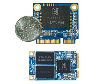 Новые SSD от Netlist с интерфейсом mSATA