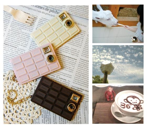 Шоколадная камера Chocolate Camera