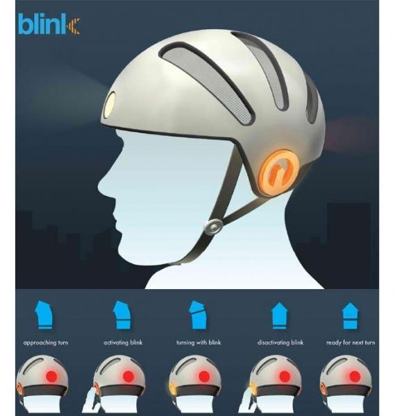 Велосипедный шлем Blink Bike Helmet
