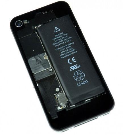 Прозрачная панель для iPhone 4