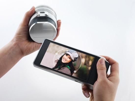 Концепт компактной камеры с «беспроводным» объективом от «зеркалки»