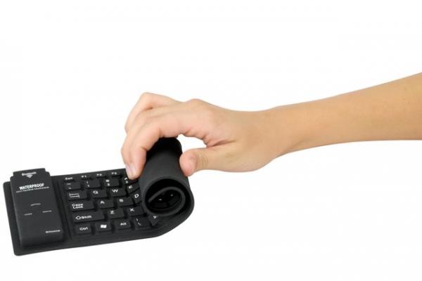 Гибкая беспроводная клавиатура Scosche freeKEY