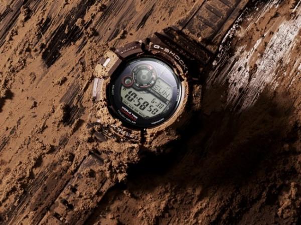 Casio добавила новые часы GW-9300 Mudman в линейку G-Shock