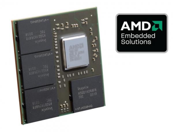 AMD запускает первый встраиваемый GPU с поддержкой 6 дисплеев и OpenCL