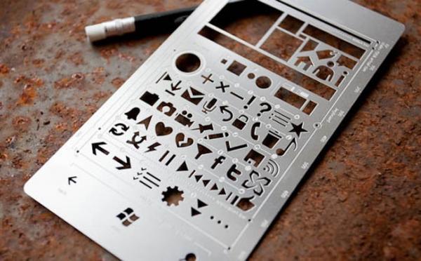 Набор трафаретов для Windows Phone 7